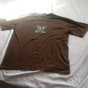 Men's size large Brown Hurley t-shirt